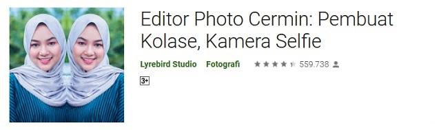 Editor Photo Cermin