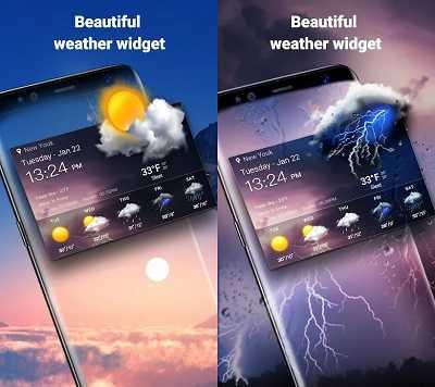 aplikasi cuaca