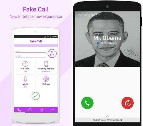 aplikasi panggilan palsu