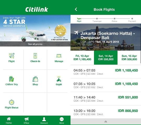 aplikasi pesan tiket pesawat
