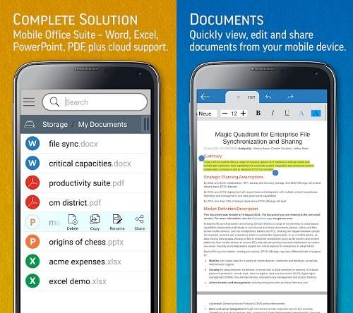 aplikasi office android