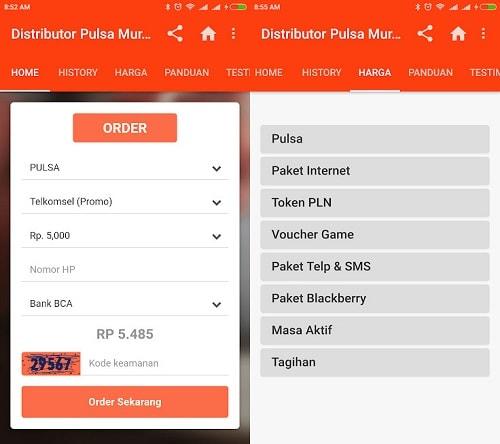 8 Aplikasi Jual Pulsa Termurah Dan Terbaik Di Indonesia Asik Android